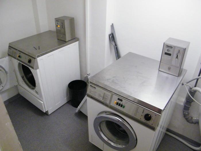 Waschraum für die Gäste