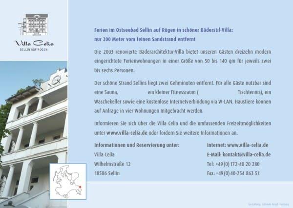 Ferienwohnung Sellin Villa Celia Karte Seite 2